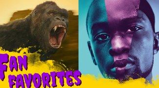 Film-Podcast: Peinliche Preisverleihungen, Moonlight & neuer King Kong  - Fan Favorites 5.10