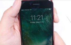 Video zeigt rotes iPhone 7 mit...