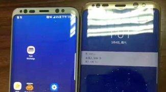 Samsung Galaxy S8 (Plus): Weiße und goldene Variante im direkten Vergleich