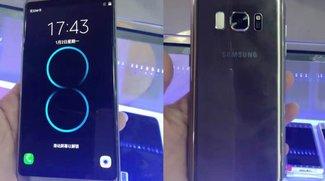 Samsung Galaxy S8: Täuschend echte Kopien bereits im Umlauf