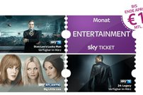 Sky Entertainment Ticket für 1 € im 1. Monat: The Walking Dead, Westworld u.v.m. – monatlich kündbar