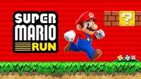 Super Mario Run: Laut Nintendo hinter den Erwartungen zurückgeblieben