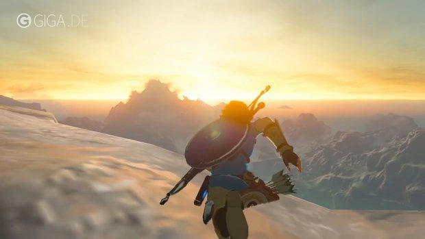 Zelda - Breath of the Wild: Spieler schubst NPC, bis er sich doppelt sieht