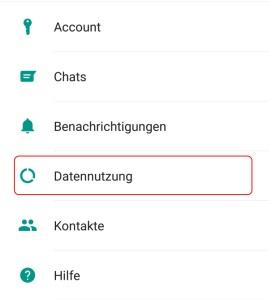 Whatsapp Bilder Abspeicherung deaktivieren auf dem