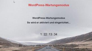 WordPress: Wartungsmodus aktivieren in wenigen Schritten