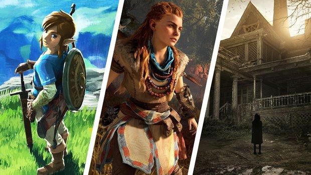 Diese Spiele haben Dir im 1. Quartal 2017 am besten gefallen