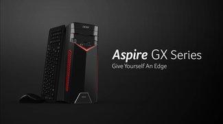 Acer Aspire GX-281: Erster Komplett-PC mit AMD-Ryzen-Prozessoren vorgestellt