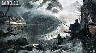 Battlefield 1: Neues Update und Konzeptzeichnungen zum nächsten DLC