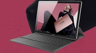 Huawei MateBook E, X und D: Drei 2-in-1-Geräte gegen Surface Pro 5 und Book 2