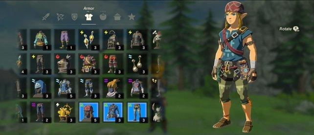 Zelda Rüstungen Set