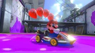 Supermarkt befindet sich im Mario-Kart-Fieber
