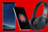 Media Markt Prospekt-Check:<b> iPhone SE, Sony MDR-1000X Kopfhörer, Smartphones & Powerbanks stark reduziert</b></b>