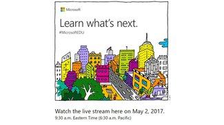 Microsoft-Event am 2. Mai 2017 im Livestream: Surface Pro 5 und mehr erwartet