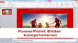 Microsoft-PowerPoint-Bilder komprimieren