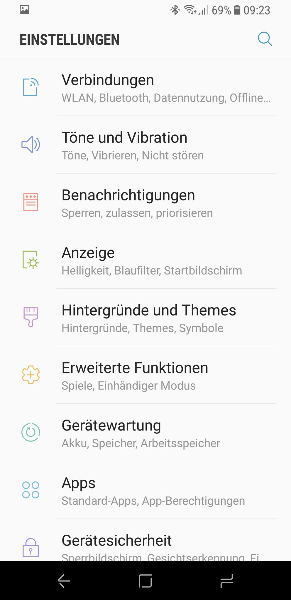 Samsung-Galaxy-S8-Software-Screenshot-Einstellungen