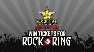 Mit Rockstar Energy Drink Rock am Ring 2017 hautnah erleben: Wir verlosen 4 x 2 Tickets