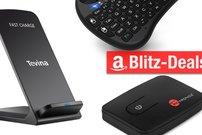 Blitzangebote: Bluetooth-Transmitter, Mini-Tastatur, Qi-Ladegeräte u.v.m. heute günstiger