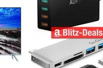 Blitzangebote: Ultra-HD-TV, USB-C-Zubehör u.v.m. heute günstiger