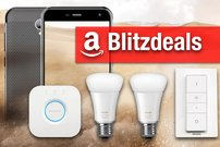 Blitzdeals & CyberSale:<b> Philips Hue Set, Outdoor-Smartphone (IP68), Action-Cam günstiger</b></b>