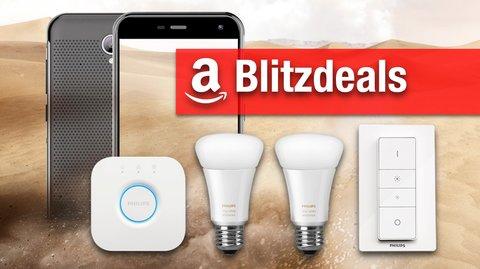 Blitzdeals & CyberSale: Philips Hue Set, Outdoor-Smartphone (IP68), Action-Cam günstiger
