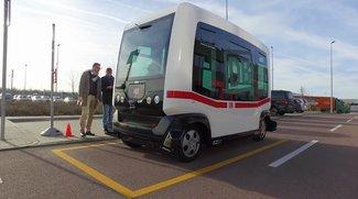 Die Bahn testet einen selbstfahrenden Bus in Berlin – Wir haben nachgefragt