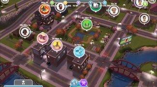 Die Sims FreePlay: Beförderungsshop finden und bauen (Kurztipp)