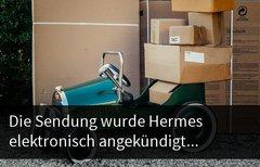 Die Sendung wurde Hermes...