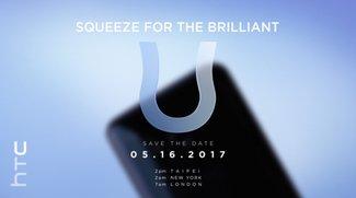 HTC U: Neues Flaggschiff wird am 16. Mai vorgestellt