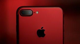 iPhone 7: Rot wie die Liebe, wie das Blut, wie AF001F, wie diese Bilder