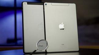 """Das """"neue"""" iPad 9,7 Zoll im Bildvergleich zum iPad Pro: So kann man sie unterscheiden"""