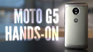 Moto G5: Günstiges Lenovo-Phone im Hands-On-Video