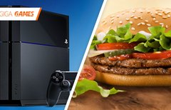 PlayStation 4: Burger King...