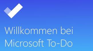 Microsoft To-Do: Aufgaben-App der Wunderlist-Entwickler