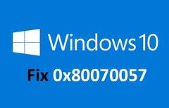 Lösung: 0x80070057 –...