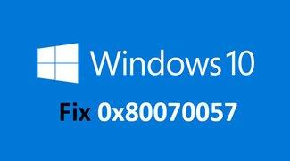 Lösung: 0x80070057 – Windows-Fehlermeldung