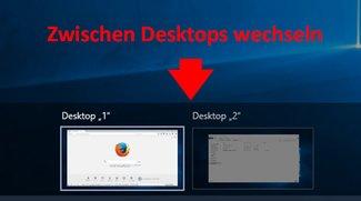 Windows 10: Desktop wechseln – so geht's