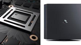 Xbox Scorpio vs. PS4 Pro: Aufgepimpte Konsolen im Vergleich