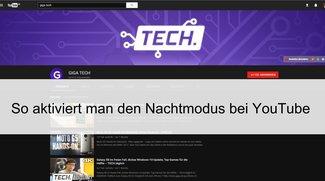 YouTube Dark-Mode: So aktiviert man den Nachtmodus