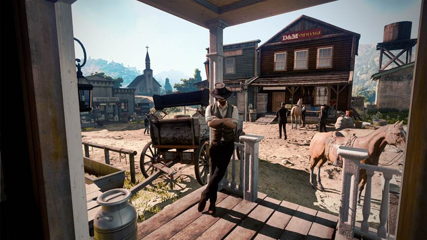 Red Dead Redemption 2: Screenshot stammt von Wild West Online