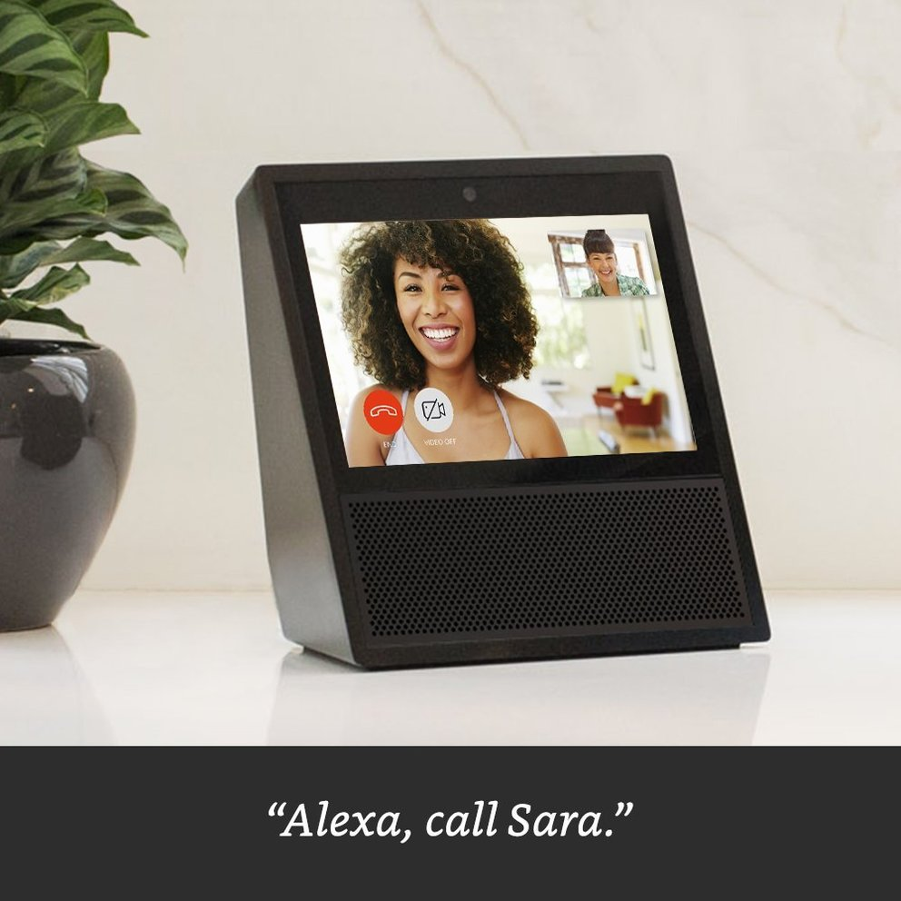 Amazon Echo Show Videotelefonie