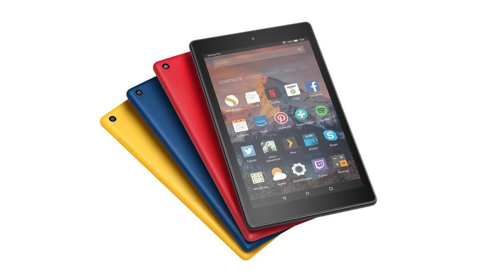 Amazon Fire 7 & Fire HD 8 Neue Generation ist dünner ausdauernder und günstiger