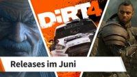 Release-Liste für Juni 2017: Diese Spiele erwarten Dich