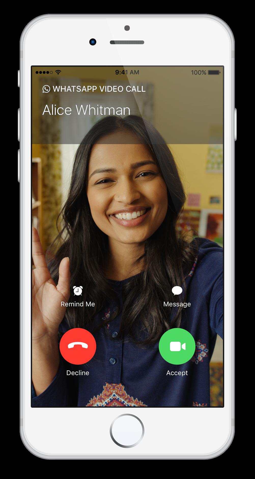 Как сделать видеозвонок whatsapp