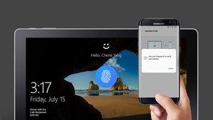 Samsung Flow: Windows-10-PC mit Smartphone entsperren – so geht's