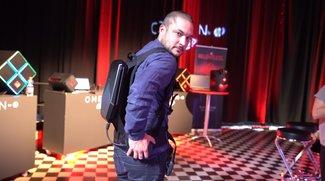 Omen X by HP Compact Desktop: VR-Rucksack-PC im Hands-On-Video