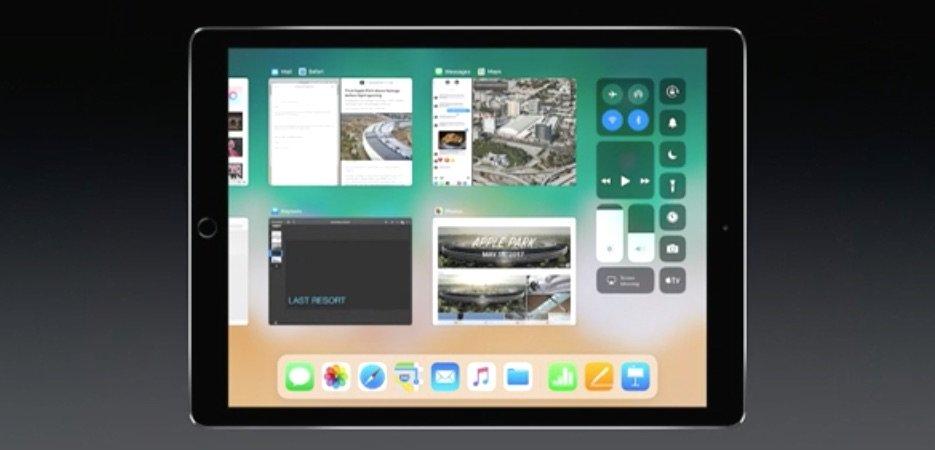 iOS 11 für iPad bietet Drag & Drop und neues Multitasking