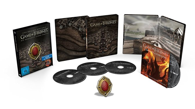 Game of Thrones Staffel 7 Steelbook Blu-Ray91Acp5FNa0L._SL1500_