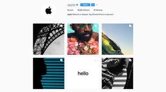 Shot on iPhone: Apple startet offiziellen Instagram-Account