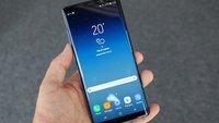Samsung Galaxy Note 9: Ohne In-Display-Fingerabdrucksensor, aber kleiner