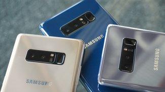Samsung Galaxy Note 8 mit gravierendem Akku-Problem